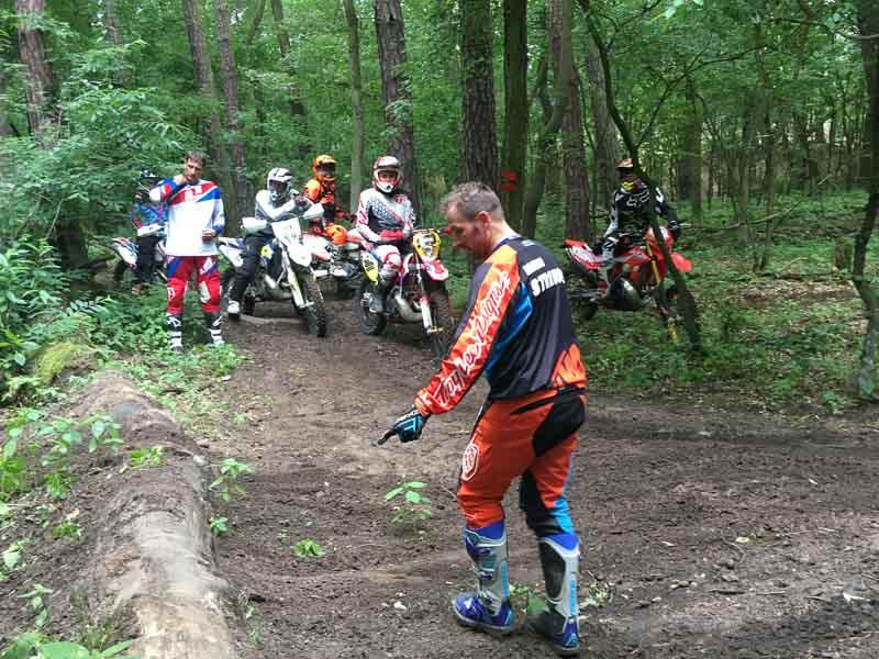Fortgeschrittenen Enduro Training Marco Straubel