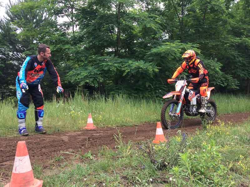Enduro Training für Fortgeschrittene mit Marco Straubel