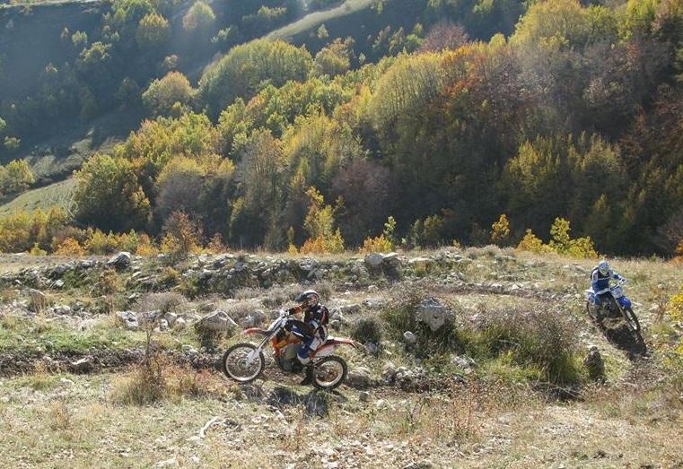 Enduro Tour Italien Marco Straubel